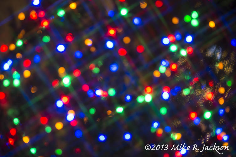 Colorful christmas lights on house images