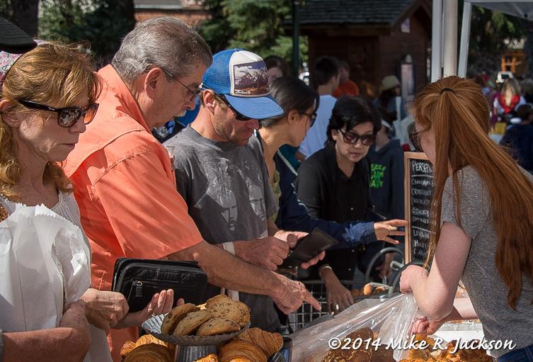 Farmers Market Shoppers