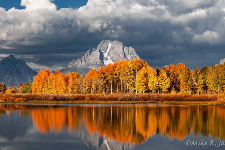 Fall at Oxbow Bend