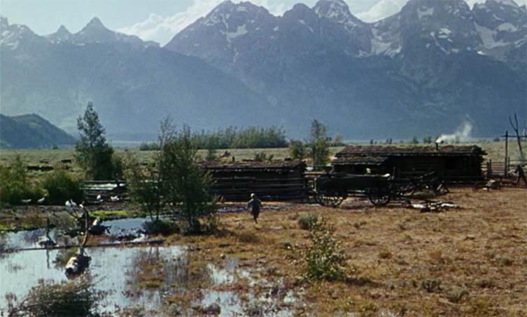 Joey Starrett Running to the Cabin