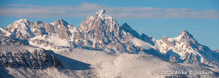Teton Range January 1