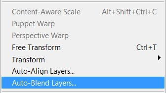 Auto Blend Layers