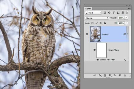 HDR (High Dynamic Range) within Photoshop: