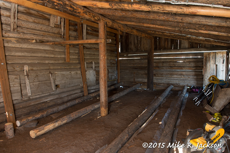 Sleeper Timbers in the Hog Shed