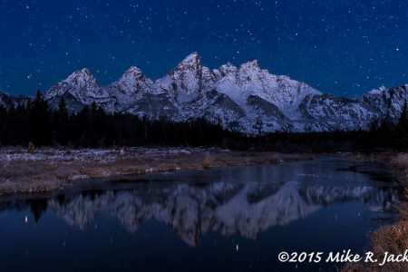 Cold Morning at Schwabacher Landing: