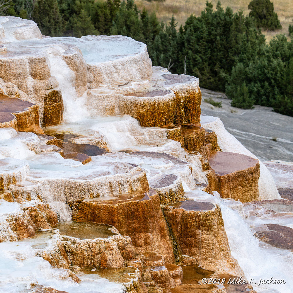 Terraces Mammoth Hot Springs