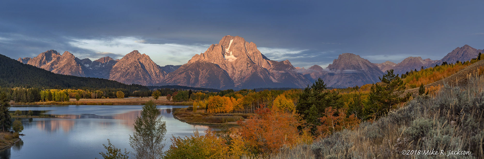Oxbow Bend in Grand Teton National Park