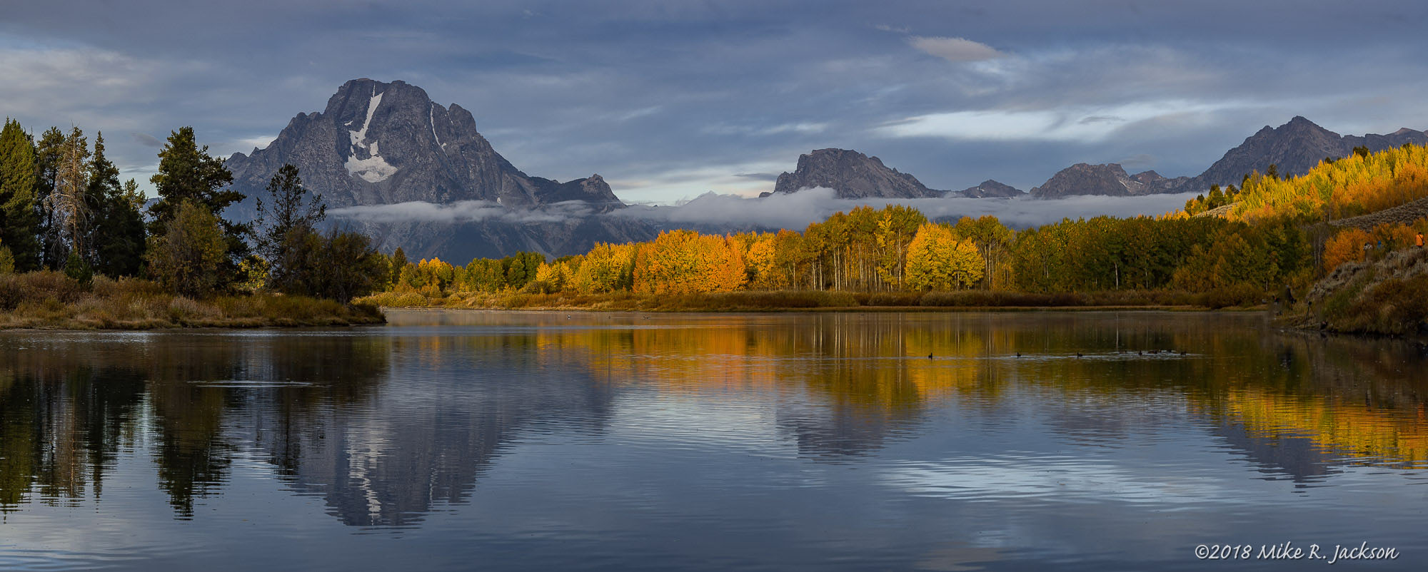 Oxbow Bend, round two.