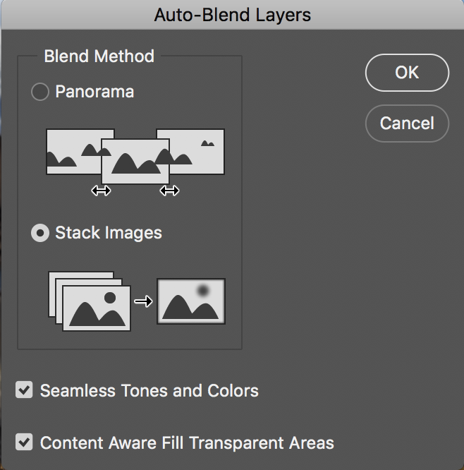 Auto-Blend Layers