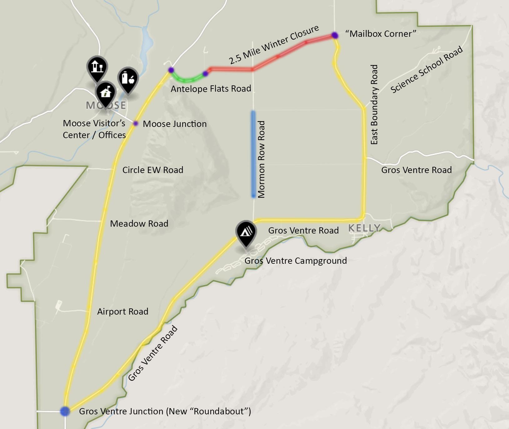 GTNP South Map