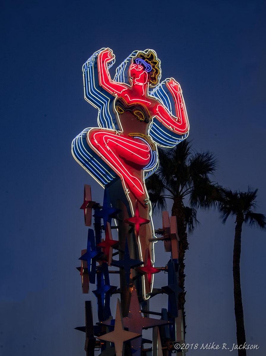 Vegas Dancing Lady