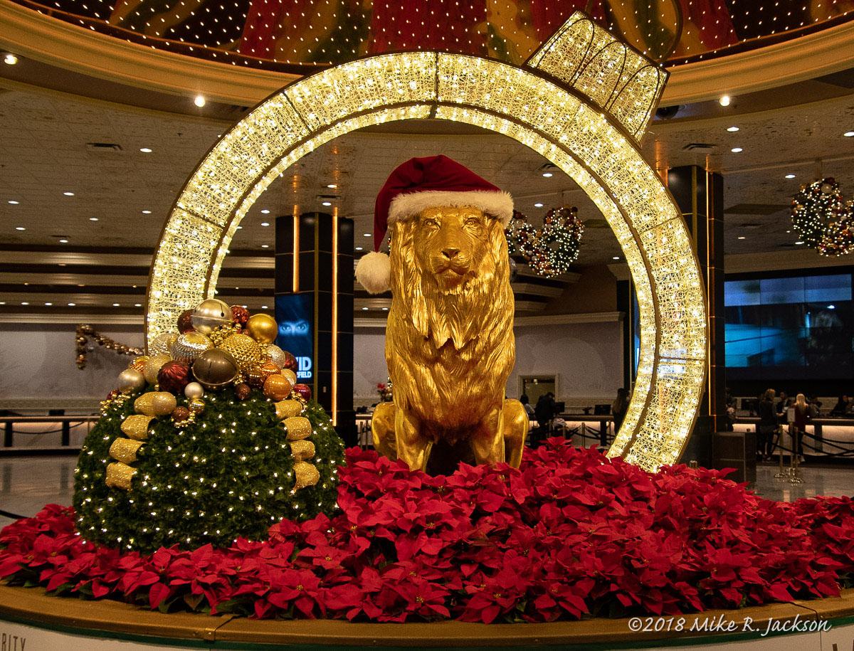 MGM Grand Christmas Decoration