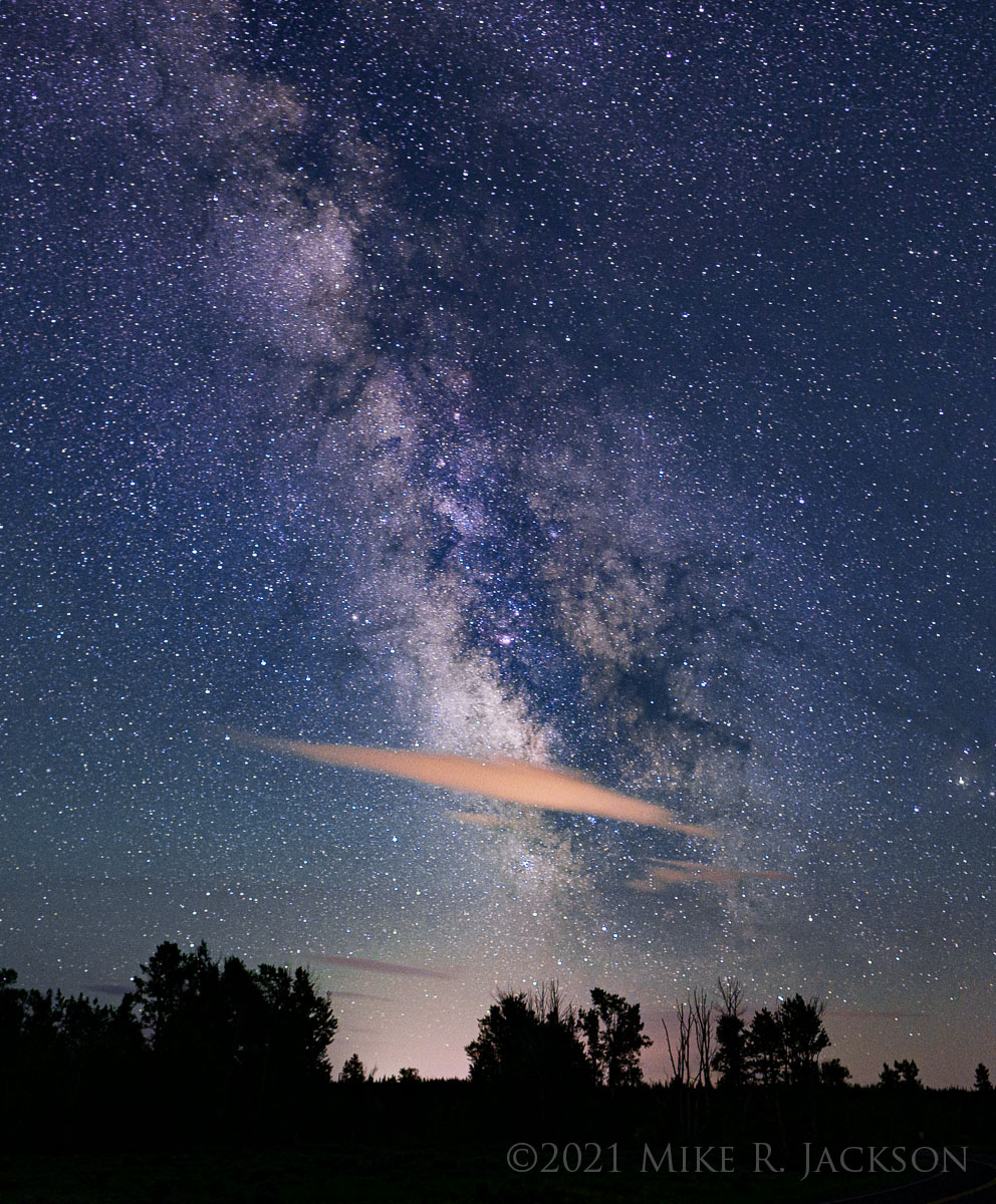 Milky Way with First Clouds